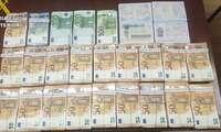 La Guardia Civil interviene 95.000 euros en Toledo a dos ciudadanos de origen libio al no poder justificar su lícita procedencia