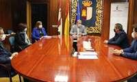 La asociación provincial de empresarios de servicios de la actividad física y el deporte de Guadalajara mantiene una reunión con el delegado de la junta de comunidades en Guadalajara