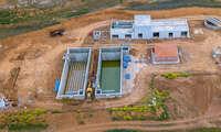 La depuradora Argamasilla de Calatrava recibe caudal de cara a las pruebas para su próxima puesta en marcha