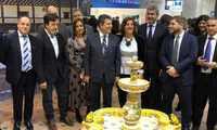 La diputación de Toledo distribuye casi 20.000 folletos promocionales del turismo provincial en Fitur