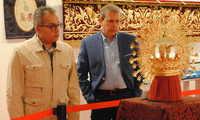 Orfebrería y bordados, protagonistas de la 'X Exposición de Patrimonio Cofrade' de Valdepeñas