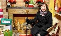 Papá Noel ya tiene preparada en Alcázar su cabaña para escuchar los deseos de las niñas y niños de la ciudad