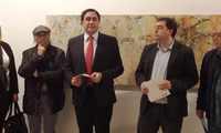 Mariscal inaugura la exposición 'Miniaturas' de Miguel Ángel Moset en el Centro Cultural Aguirre de Cuenca