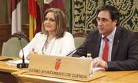 La Junta de Gobierno de Cuenca aprueba nuevos convenios con el Colegio de Arquitectos, RENFE y La Caixa