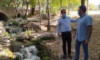 En marcha el proyecto de naturalización en la laguna y las vías de agua del Parque de La Quebradilla