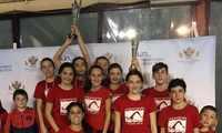 Las alevinas del Club Natación Ciudad Real, campeonas de  Castilla-La Mancha, y junto a sus compañeros alevines consiguieron ser subcampeones en la general