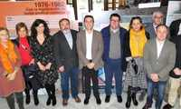 El hall de la Diputación de Albacete acoge la exposición '130 años de luchas y conquistas', un recorrido por la historia del sindicato UGT