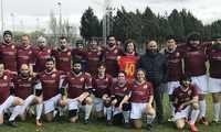 """El equipo de rugby 15 """"Gigantes de La Mancha"""" de Alcázar de San Juan debutó el pasado fin de semana contra """"Arlequines"""" de Miguelturra"""