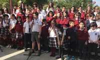 El auditorio del Parque Cervantes en Alcázar de San Juan acogió la 4ª edición de los Mayos Infantiles