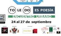 El encuentro urbano 'To(le)Do es Poesía' tendrá lugar del 24 al 27 de septiembre y mantendrá las actividades programadas