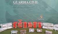 La Guardia Civil incauta más de 14 kilos de hachís en Villarta de San Juan