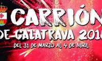 Carrión de Calatrava abre sus Fiestas en honor a la Virgen de la Encarnación, el próximo sábado 31 con el pregón de Andrés Merino y la actuación de Soraya