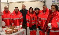 El programa 'Personas Mayores' de Cruz Roja vuelve a ser partícipe de la Feria de Marzo