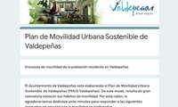 Valdepeñas realiza una encuesta ciudadana sobre su Plan de Movilidad Urbana Sostenible