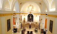 Jesús Martín asiste este viernes a la inauguración de la rehabilitación del templo del Santo Cristo en Valdepeñas