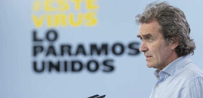 Simón aclara que en fase 2 se mantendrán franjas reservadas para mayores y vulnerables