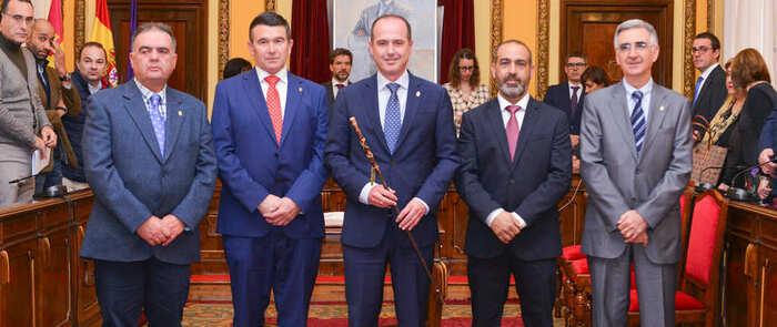 Toman posesión los cuatro alcaldes pedáneos de Guadalajara
