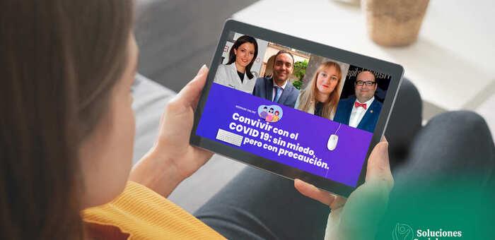 La Fundación Eurocaja Rural organiza una sesión formativa sobre COVID-19 impartida por médicos del Hospital General Nuestra Señora del Prado