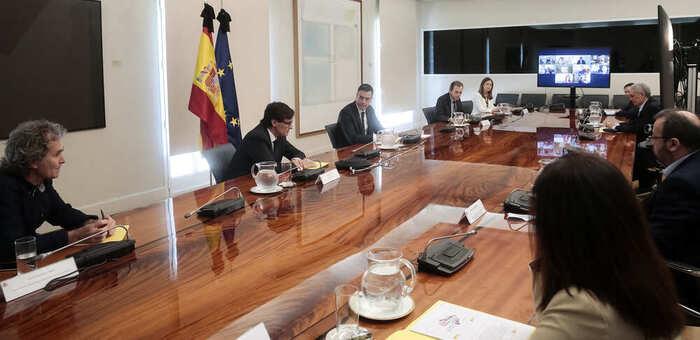 Sánchez informa a los presidentes autonómicos de que pedirá la sexta prórroga al estado de alarma y que será la última