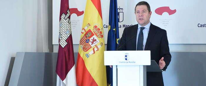 """García-Page carga contra Holanda y espera que la UE """"corrija su error de indiferencia"""" ante la crisis"""