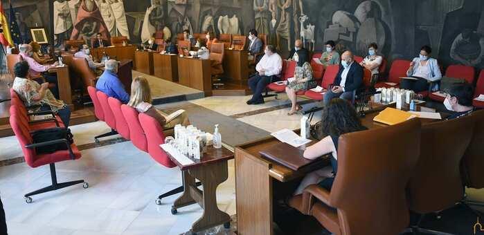 El Pleno de la Diputación de Ciudad Real aprueba inversiones e intervenciones acordadas por unanimidad en la Comisión para la Recuperación Socioeconómica de la provincia