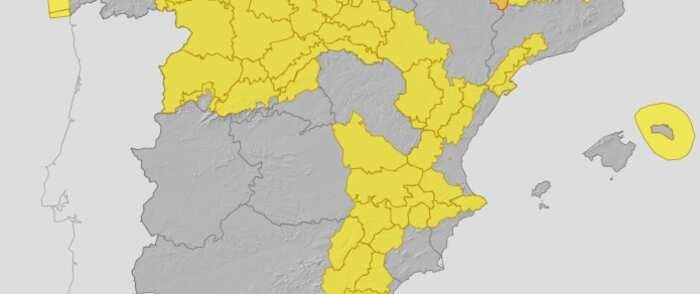 Avisos en Castilla-La Mancha por rachas muy fuertes de viento en zonas altas de la mitad oriental y en la mitad este de la Mancha