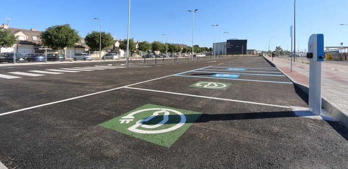 El nuevo aparcamiento del barrio del Señorío en Illescas ya está a disposición de la ciudadanía