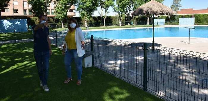 Se abren las piscinas municipales de Talavera con el protocolo de medidas 'anti-Covid'