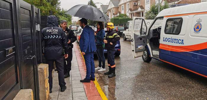 Azuqueca acometerá actuaciones para acabar con los problemas de inundaciones en Vallehermoso