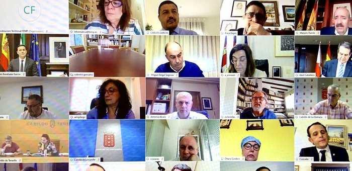 La Casa Provincial de Albacete respalda las grandes reivindicaciones analizadas en el seno de la Comisión de Diputaciones, Cabildos y Consejos Insulares de la FEMP