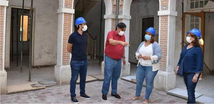 Comienzan los trabajos en Casa Forero de Talavera, que acogerá el Centro Profesional y Superior de Música de la ciudad