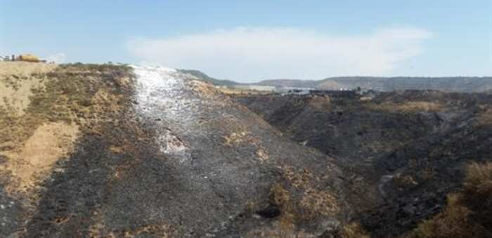 Los acusados por el incendio en la planta de residuos de Chiloeches se enfrentan a penas de hasta 19 años de cárcel