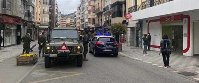 Llegan a Cuenca 40 efectivos de la Brigada Paracaidista para vigilar el cumplimiento del confinamiento