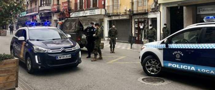 La Policía Local de Cuenca ha detenido a una persona y denunciado a once por saltarse el Estado de Alerta