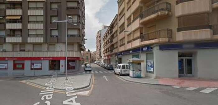 Herido por arma blanca en plena vía pública un hombre de 28 en Hellín (Albacete)