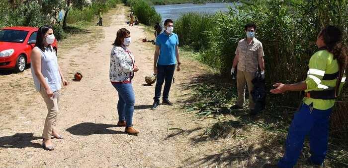 Talavera de la Reina limpiará las riberas del Tajo anualmente para combatir la proliferación de mosquitos