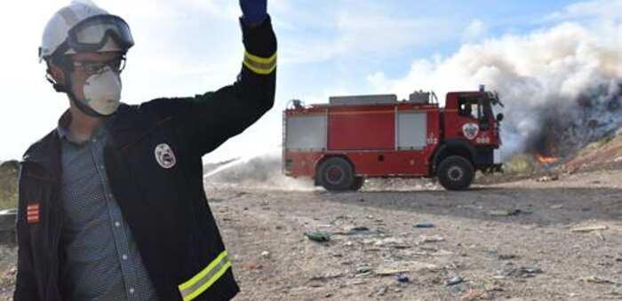 """El incendio en el CTRU de Albacete no genera """"residuos tóxicos para la población que pongan en peligro su salud"""""""