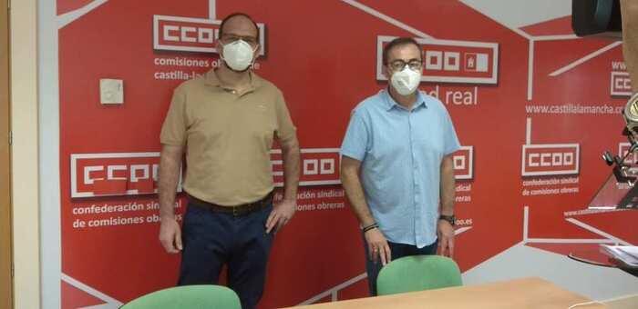 """CCOO pide """"complicidad"""" a Diputación y grandes ayuntamientos para paliar la crisis del COVID-19 en Ciudad Real"""