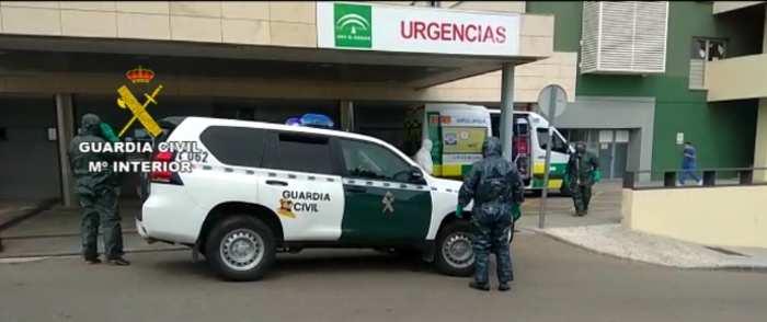 La Guardia Civil intercepta en Nerja a una persona, positivo en Coronavirus, que había huido de un centro hospitalario de Madrid
