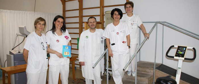 La Unidad de Fisioterapia del Hospital de Cuenca elabora una Guía de Rehabilitación Respiratoria para pacientes con EPOC