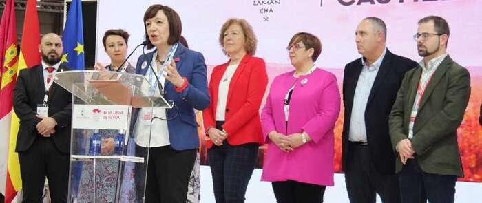 La Ruta del Vino de La Mancha presentó su propuesta en FITUR 2020 en el Stand de Castilla La Mancha