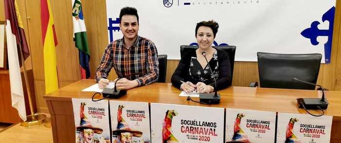 Se presenta el 'Carnaval 2020 de Socuéllamos' con incremento en los premios de los concursos y varias novedades