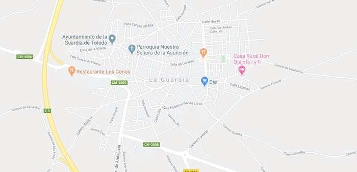 Fallece una mujer tras recibir un disparo, supuestamente accidental, de un arma de fuego en La Guardia (Toledo)