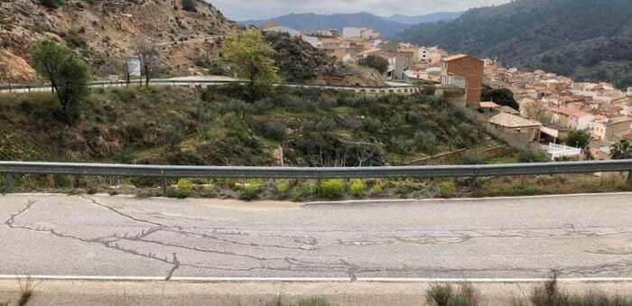 La Diputación de Albacete saca a licitación esta semana el proyecto de construcción de muro y mejora de firme en la AB-412, de la CM-3213 a Liétor