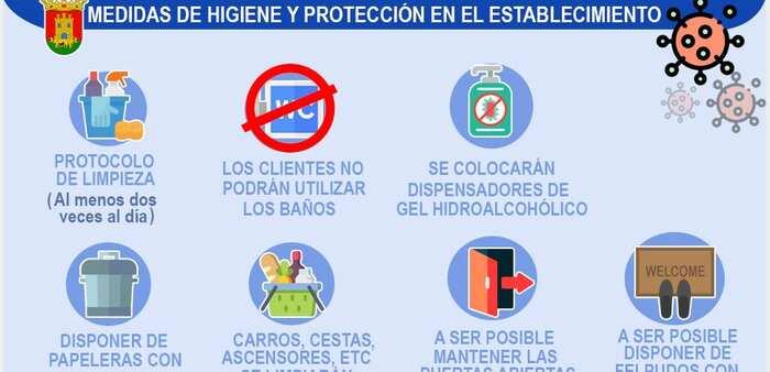Talavera inicia una campaña en redes sociales para dar a conocer las normas a seguir en reapertura de comercios