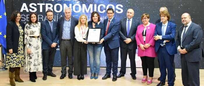 El Valle de Alcudia y Sierra Madrona consigue su certificación como destino Starlight para el turismo astronómico