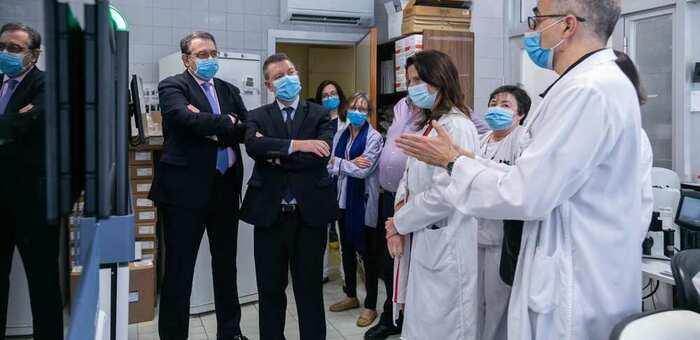 """Castilla-La Mancha estará en disposición de realizar 10.000 pruebas diarias """"en los próximos meses"""""""