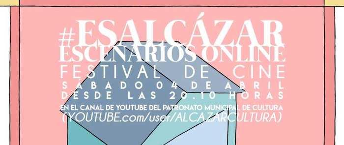 """Ocho cineastas alcazareños en el primer Festival de Cine #EsAlcázarescEenariosOnline"""" del patronato municipal de cultura"""