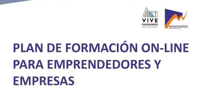 Ya está a disposición de emprendedores y empresas de Manzanares el plan de formación online