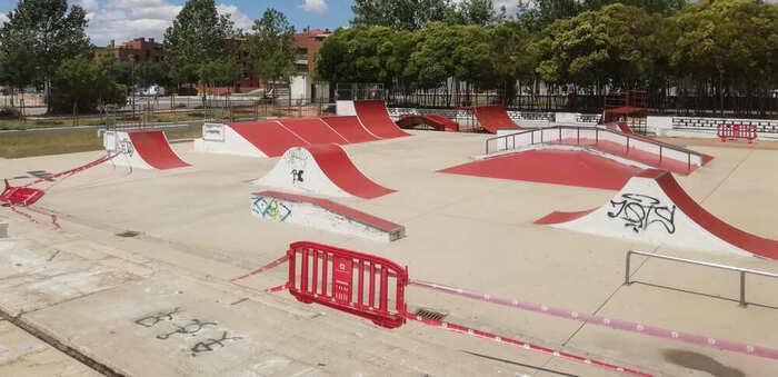 Este domingo, se abre en Azuqueca el 'pump track' y los 'skate park' del EJE y el parque de La Quebradilla